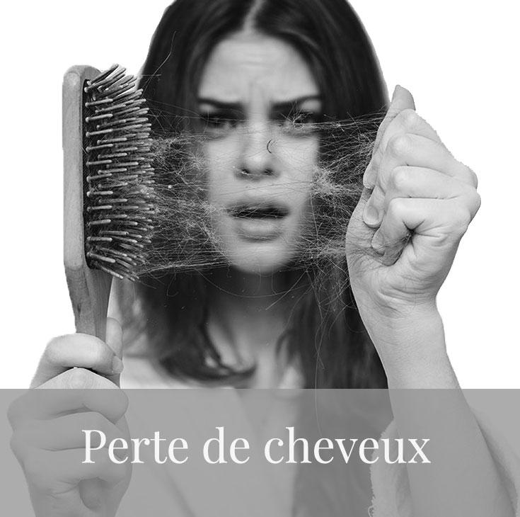 soins perte de cheveux femme